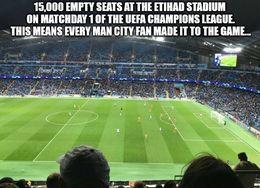 Empty seats memes