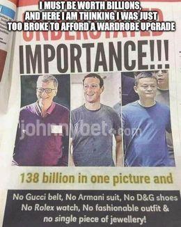 Too broke to afford memes