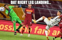 Right leg memes