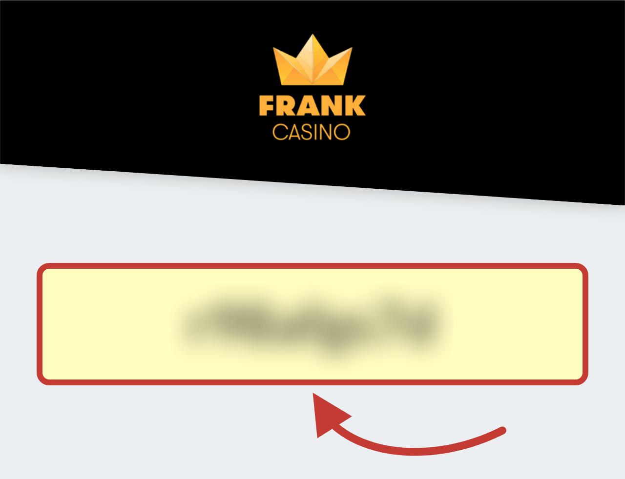 Frank Casino (Франк Казино) Бонус Код