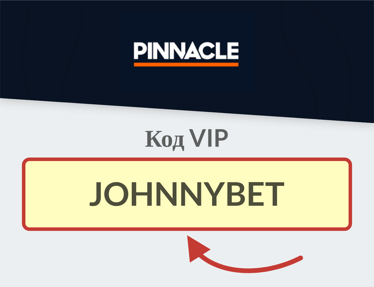 Pinnacle Sports Код VIP-клиента